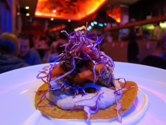 SSPNY enjoyed the chicken liver tacos at Chef Danny Bowiens hotspot Mission Cantina!