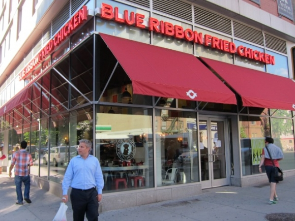 SSPNY tries out Eric and Bruce Bromberg's excellent Blue Ribbon Fried Chicken, where on more than one occasion the pair have given everything on their entire menu away for free!