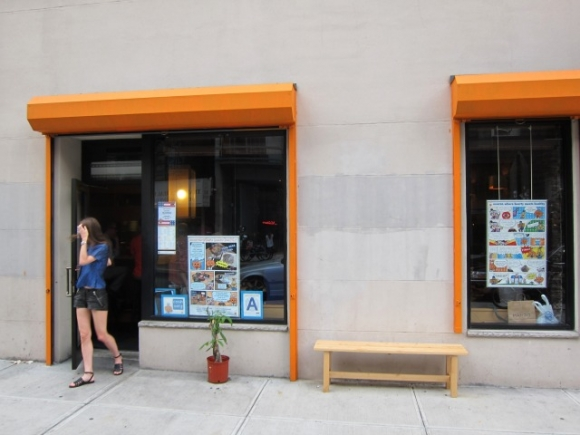 SSPNY checks out one of its favorite restaurants, Cocoron Soba noodle shop, at its new location on Kenmare in Nolita.
