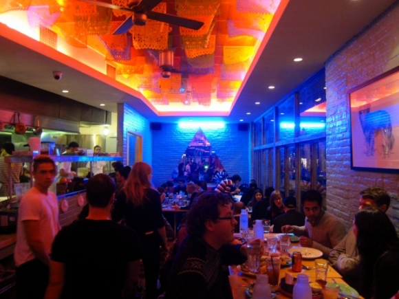 SSPNY visits Mission Cantina located at 172 Orchard Street