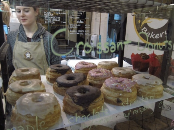 SSPNY loved these croissant donuts at Davidovich Bakery are a favorite at Essex Street Market!
