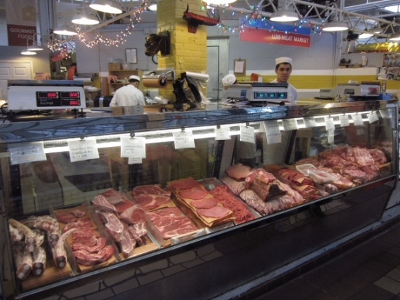 SSPNY checked out the two butchers at Essex Street Market--Heritage and LuLu's