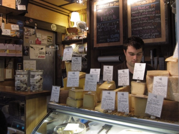 We doesn't love cheese? There are a few cheesemongers at the Essex Street Market that SSPNY recommends!