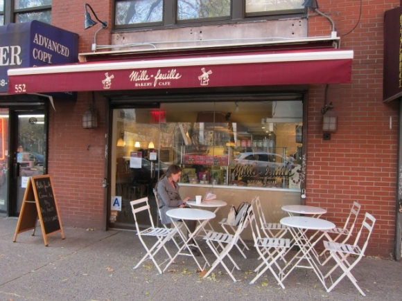 Mille-Feuille Bakery Cafe is located on LaGuardia Place just south of West 3rd Street and a block away from Washington Square Park, and every Saturday Dessyn himself teaches a Macaron-making class for a three-hour lesson where you can make and bring home 30 macarons!
