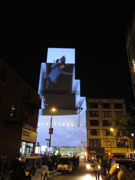SSPNY caught its first Festival of Ideas for a New City put on by The New Museum just two years ago as dozens of workshops and performances filled the streets with nighttime projections all around Nolita, and inside the New Museum itself.