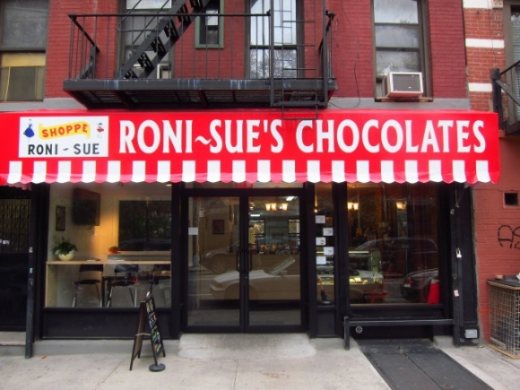 SSPNY heads down to sample the chocolates and other treats at Roni-Sue's-located on Forsyth Street between Delancey and Rivington.