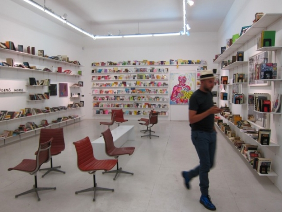 SSPNY enjoys the show at The Hole, which was put together with help from Printed Matter, powerHouse books and Bright Lyons.