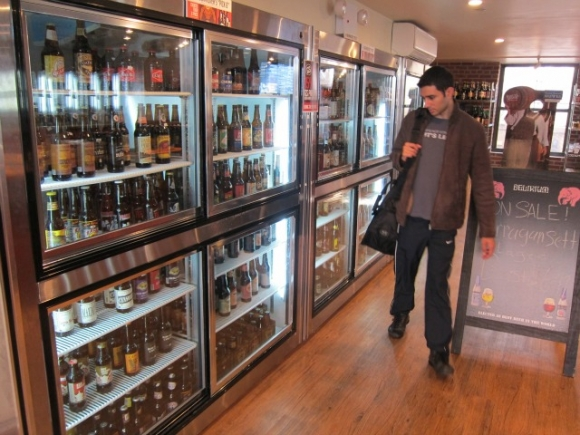 SSPNY's Growler Station also offers a rare and excellent bottled beer selection and host free brewery parties on 8th Street.